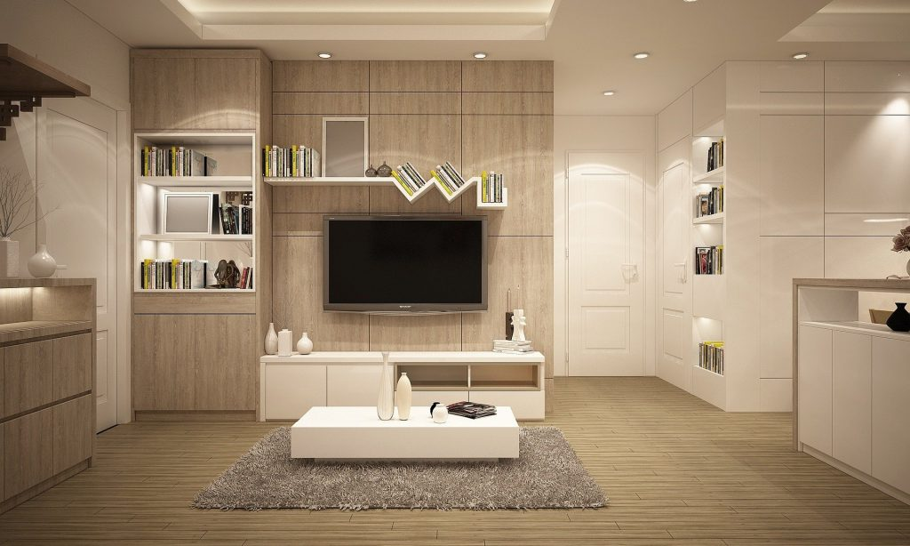 ADU Construction of amazing basement family room