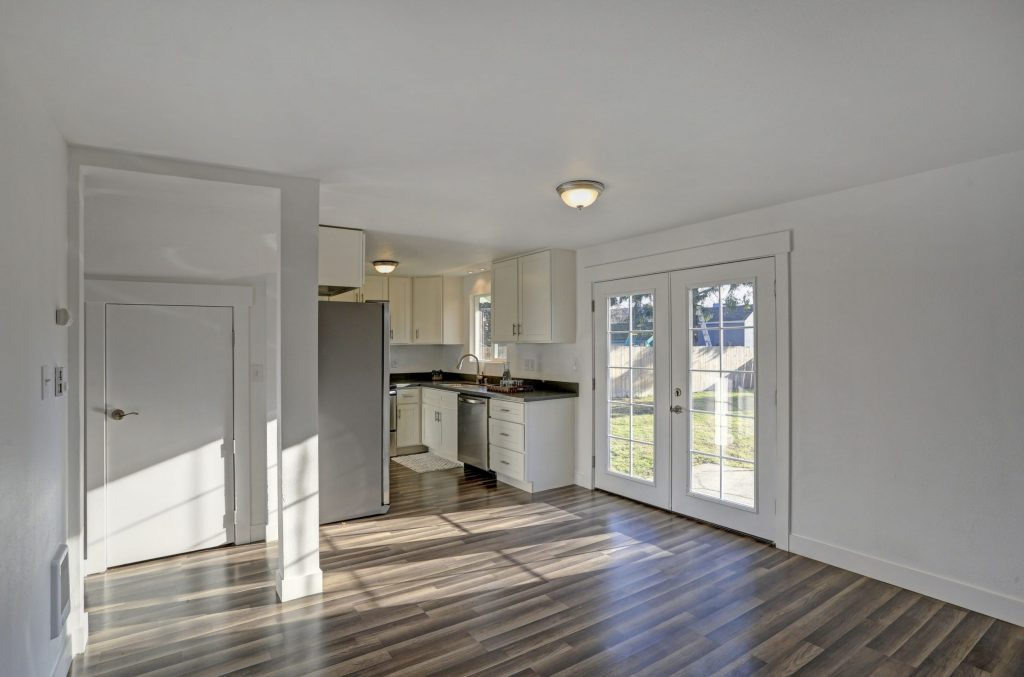 Amazing Walk in Basement with Small Kitchen - Basement Remodeling Contractors San Jose
