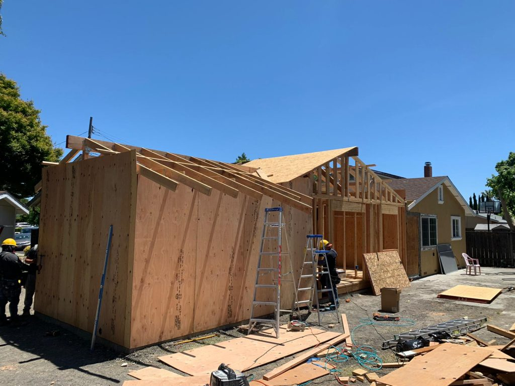 In Progress of Home Expansion - Home Additions Lafayette