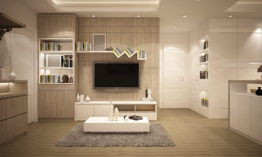 Amazing 3 D Render of Custom Family Room - Home Remodeling San Jose