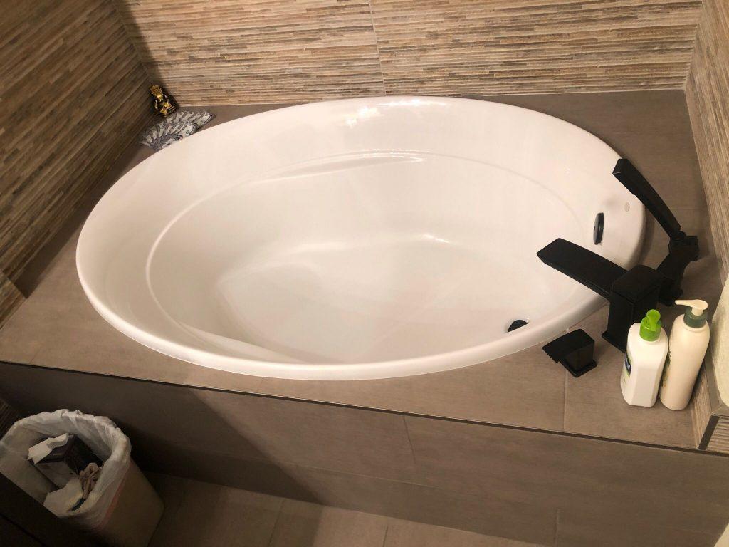 Amazing Sink and Vanity in Custom Bathroom Remodeling